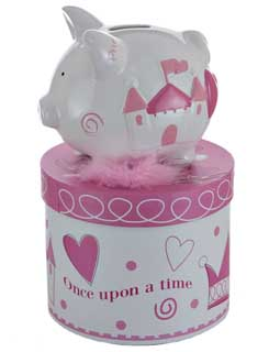 Mini Princess Piggy Bank