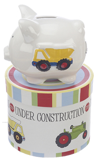Mini Trucks Piggy Bank