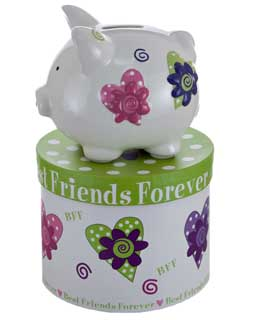 Mini Best Friends Forever Piggy Bank