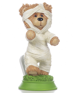 Mummy Bear Figurine