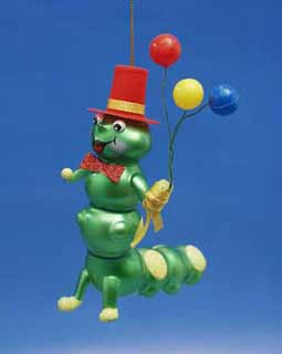 Caterpillar With Balloons