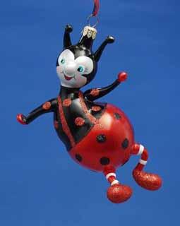 Sitting Ladybug