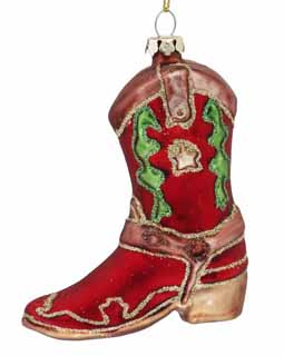Cowboy Boot - Red