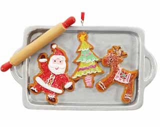 Cookie Sheet Santa