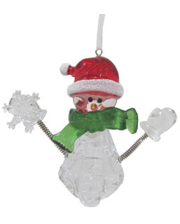 Snowman with Snowflake