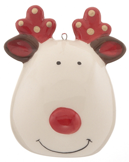 Reindeer - Brown or Gold Polka Dots