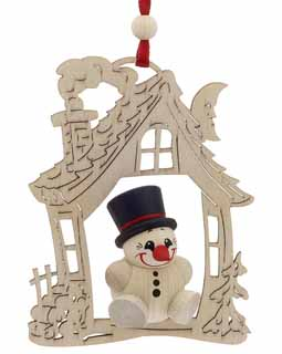 House - Top Hat Snowman