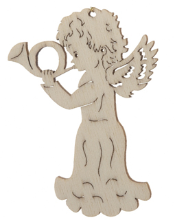 Angel Playing Horn