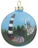 Glass Ball Christmas Ornaments that are Painted on the Inside M...