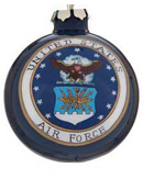 United States Air Force Glass Ball