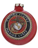 United States Marines Glass Ball