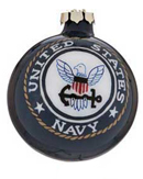 United States Navy Glass Ball
