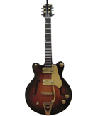 Brown Electric Guitar