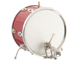 Red Bass Drum