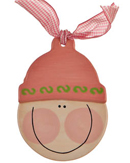 Baby Girl Christmas Ornaments - Baby Girl's 1st Christmas Ornam...