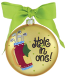 Golf Ornaments & Golfer Christmas Ornaments
