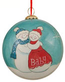 Expecting / Pregnant Mom & Couples Christmas Ornaments