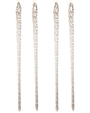 Large Glass Icicles - Set of 8