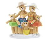Beach Bear Family of 5
