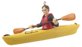 Kayaking Ornaments & Kayaker Christmas Ornaments