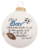 Son Soccer Ball