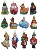 Polish Glass Christmas Ornaments | ChristmasOrnaments.com