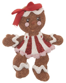 Happy Gingerbread Girl