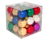 Miniature Glass Ornaments - Set of 27