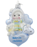 New Baby Ornaments - Baby's 1st Christmas Ornaments