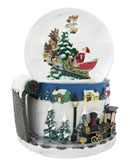 Snowglobe Christmas Ornaments