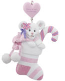 Baby's 1st Christmas Bear - Pink