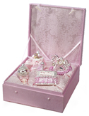 Baby's First Christmas Girl Gift Set