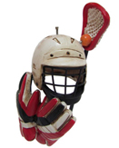 Lacrosse Ornaments & Lacrosse Player Christmas Ornaments