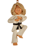 Karate Ornaments - Karate Christmas Ornaments