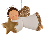 Angel with Gold Star - Boy
