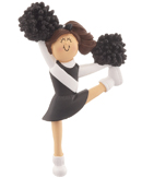 Cheerleading / Cheerleader Ornaments & Pompons Christmas Orname...