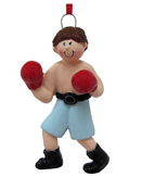 Boxing Christmas Ornaments