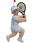 Tennis Ornaments & Tennis Player Christmas Ornaments
