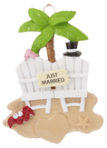Beach Ornaments - Beach Christmas Ornaments