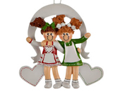 Christmas Ornaments for Friends - Friendship Christmas Ornaments