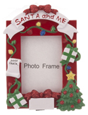 Santa And Me Photo Picture Frame