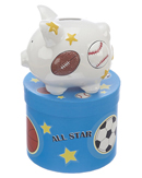 Mini Sports Piggy Bank
