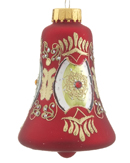 Red Glass Bell