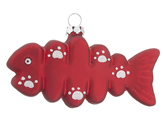 Fish Ornaments - Fish Christmas Ornaments