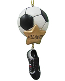 Soccer Ornaments - Soccer Player Christmas Ornaments