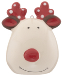 Reindeer - White or Green Polka Dots