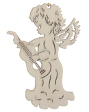 Angel Playing Guitar